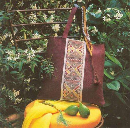 Сумка в марокканском стиле