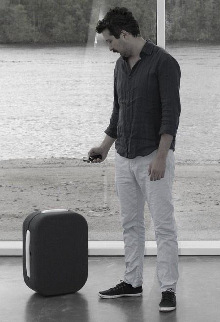 умный чемодан
