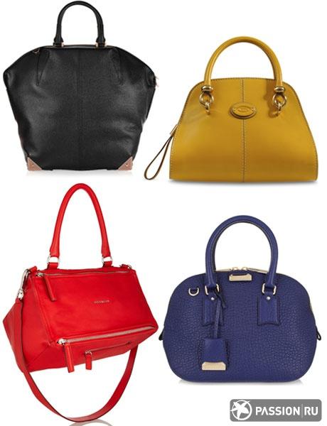 Верхний ряд: Alexander Wang, Tod's  Нижний ряд: Givenchy, Burberry Shoes & Accessories