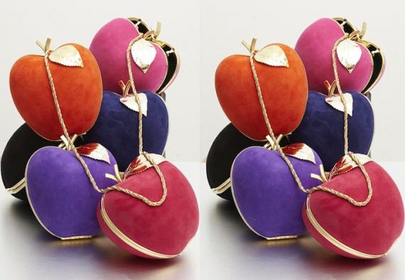 Сумки-яблоки от парижского бренда Apologie