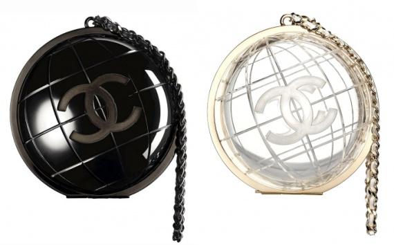 клатч-глобус Chanel