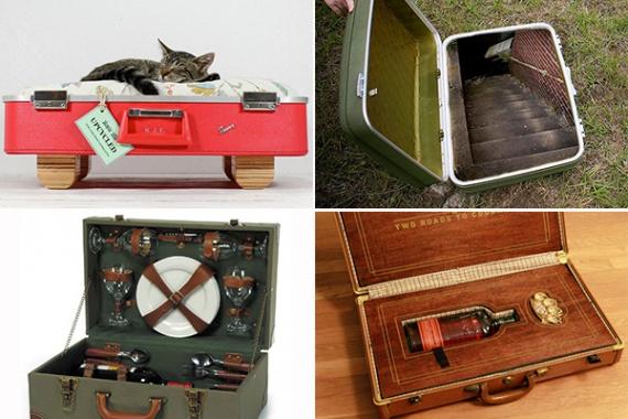 Обзор необычных чемоданов
