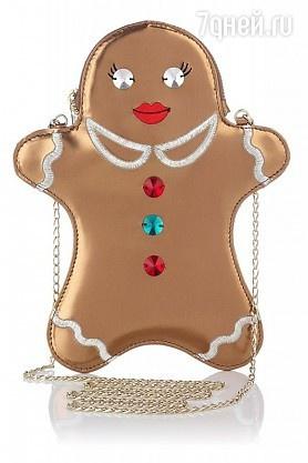 Зимняя сумочка от Charlotte Olympia