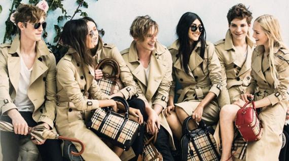 Новая рекламная кампания Burberry, весна-лето 2014