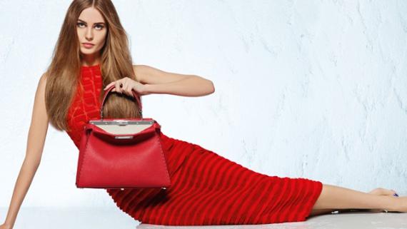 Весенняя рекламная кампания Fendi