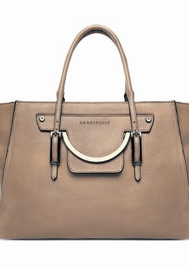 Звездный стиль: сумка цвета пудры