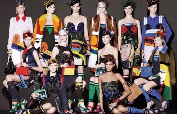 Женские сумки: мода 2014 года