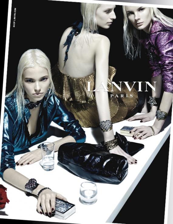 Весенняя рекламная кампания Lanvin