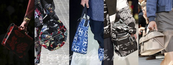 Мужские сумки весна-лето 2014