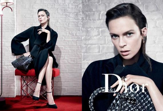 Сумки в рекламной кампании Dior
