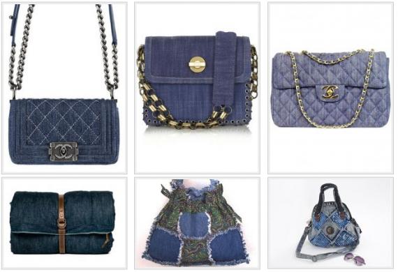 Джинсовые сумки 2013
