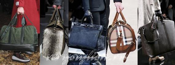 Мужские сумки осень-зима 2013-2014