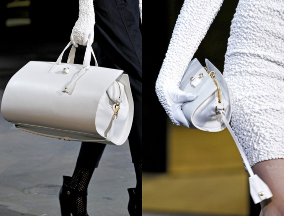 Белые сумки 2013