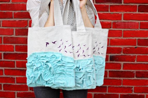Как украсить сумку своими руками