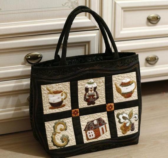 стильная хозяйственная сумка