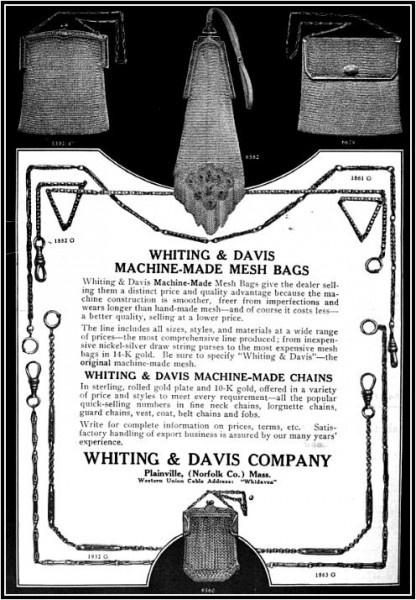 Сумочки Whiting & Davis