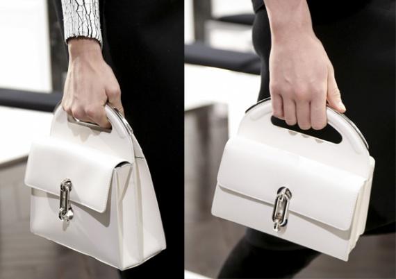 Белоснежная сумка Balenciaga