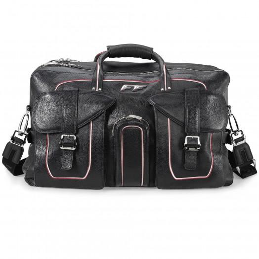 Дорожная сумка из кожи от Ferrari