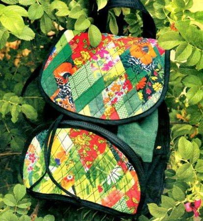 Лоскутный рюкзак своими руками