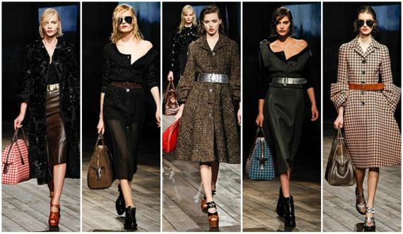 коллекция Prada осень-зима 2013-2014