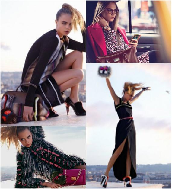 Модные сумки осень-зима 2013-2014: Chanel, Dior, D&G, Gucci