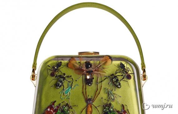 «Энтомологическая сумка» из проекта Prada + Damien Hirst Entomology Bags