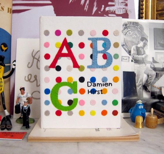 клатч Damien Hirst ABC от Олимпии Ле Тан