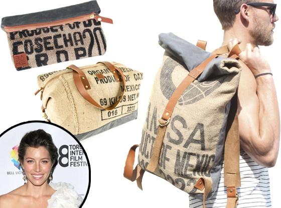 Эко-сумки от Джессики Бил