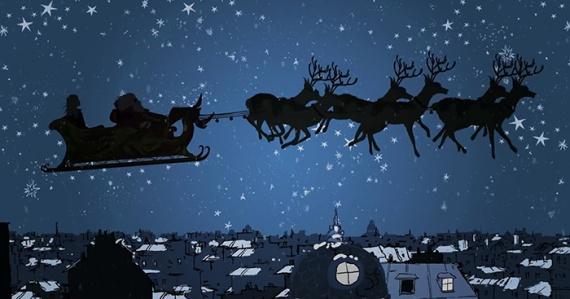 Рождественское видео Coccinelle