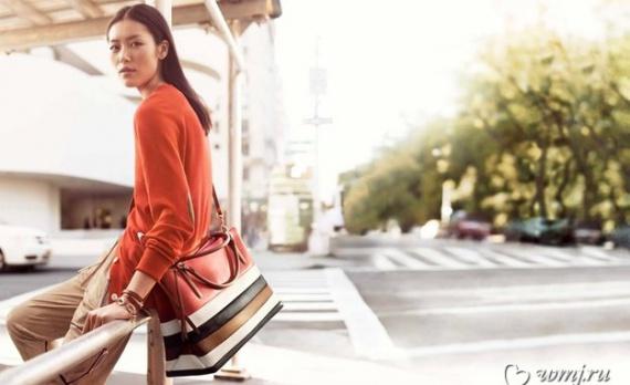 Лью Вен в рекламной кампании Coach весна 2014