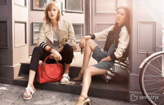 Карли Клосс в рекламной кампании Coach