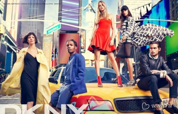 Рекламная кампания DKNY весна-лето 2014