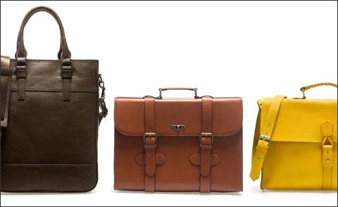 Мужские сумки от Zara