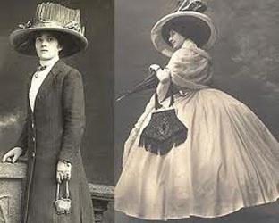 история женской сумки 20 век