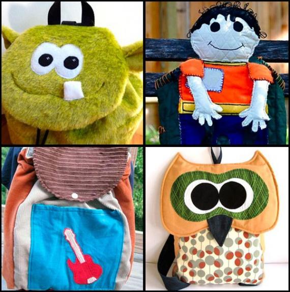 Рюкзаки для девочек с аппликациями