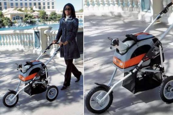 Коляска для мохнатых малышей Petego's Pet Stroller