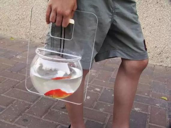 Переносной мини-аквариум Fishbowl от Michael Shabtiali