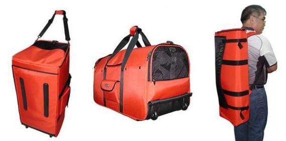 Рюкзак Backpack-o-Pet - удобная переноска для больших собак