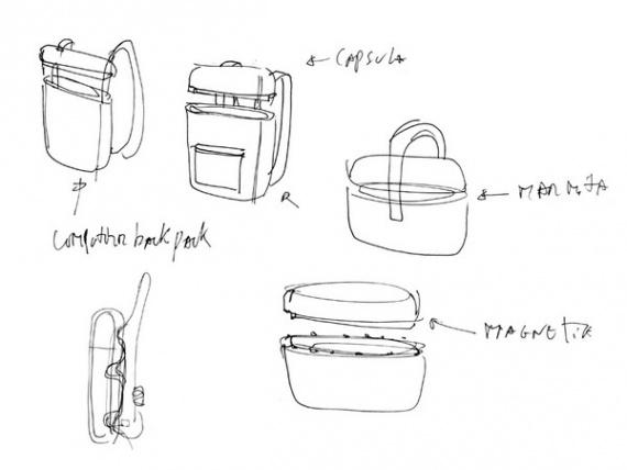 Пробковый рюкзак INROU с интересной родословной