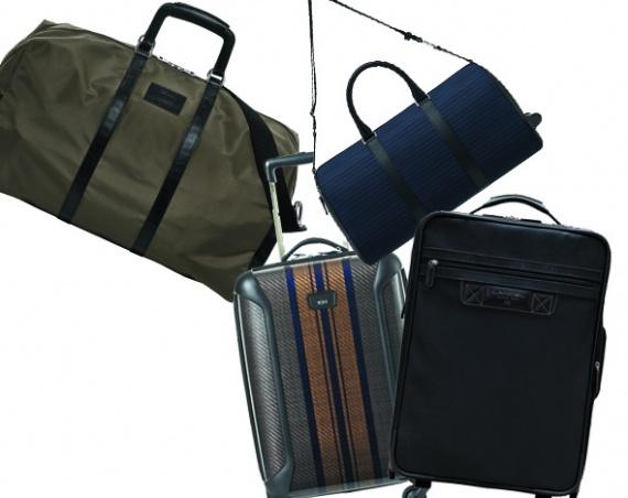 Семь предметов багажа для поездок разной дальности