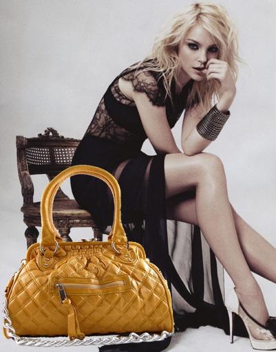 Джессика Стэм (Jessica Stam), сумка Marc Jacobs